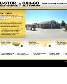 U-Stor+Self+Storage Website