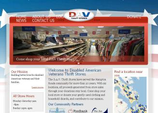 Disabled+American+Veterans+Thrift+Stores Website