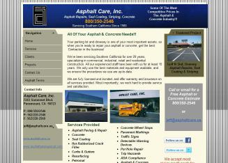 Asphalt+Care Website