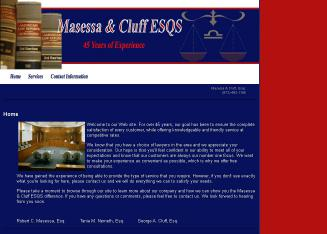 Masessa+%26+Cluff+ESQS Website