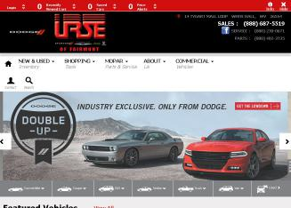 Urse+Honda Website