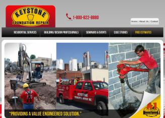 Keystone+Foundation+Repair%2C+Inc. Website
