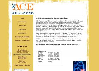 Acupuncture+%26+Chiropractic+Excellence Website
