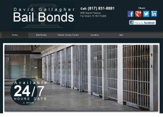 David+Gallagher+Bail+Bonds Website
