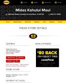 Midas+Auto+Service+Experts Website
