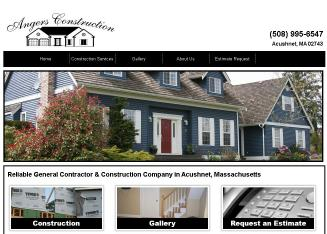 Angers+Construction Website
