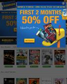 Blockbuster+Video Website