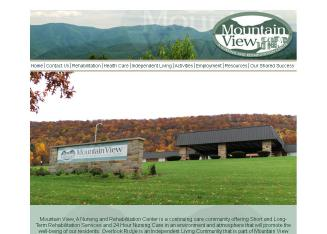 Mountain View, A Nursing and Rehabilitation Center