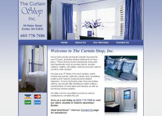 Curtain+Shop+The Website