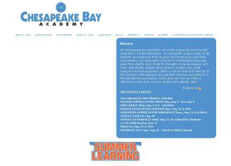Chesapeake+Bay+Academy Website