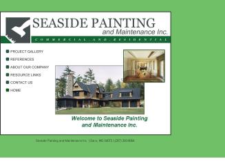 Seaside+Painting+%26+Maintenance Website