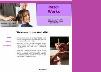 Razor+Works Website