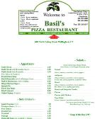 Basil%27s+Pizza+Restaurant Website