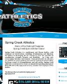 Spring+Creek+Athletics Website