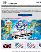 E+P+Fitness Website