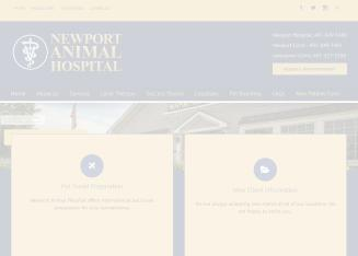 Newport+Animal+Hospital Website