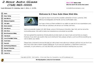 2+Hour+Auto+Glass Website