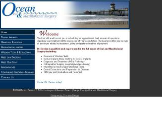 Ocean+Oral+Surgery Website