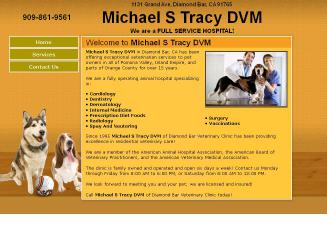 Tracy%2C+Michael+S+Dvm Website