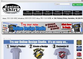 Reston+Shirt+%26+Graphic+Co. Website