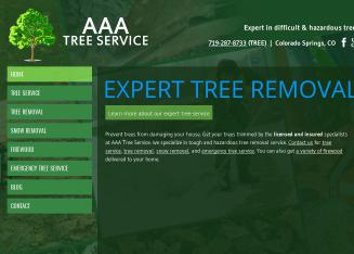 AAA+Tree+Service+LLC Website