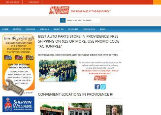 Action+Auto+Parts Website