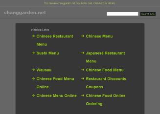 Chang+Garden Website