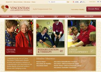 Vincentian+Rehabilitation+Services Website