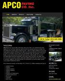APCO+Paving+CO Website