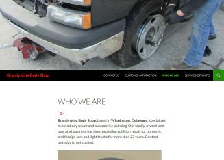 Brandywine+Body+Shop Website