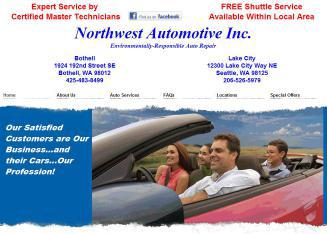 Northwest+Automotive+Inc Website