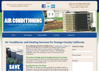 Air Conditioning Services of California