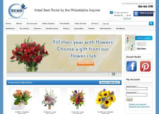 Blue+Moon+Florist Website