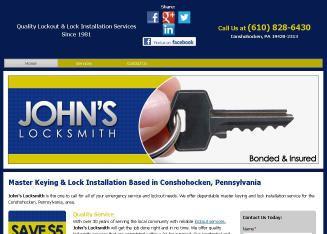 John%27s+Locksmith Website