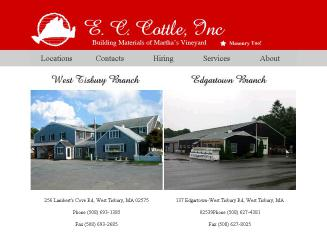 E+C+Cottle+Inc Website