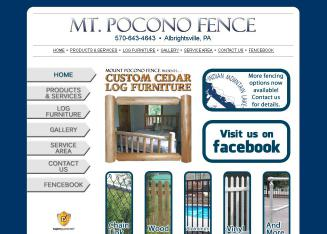 Mount+Pocono+Fence Website