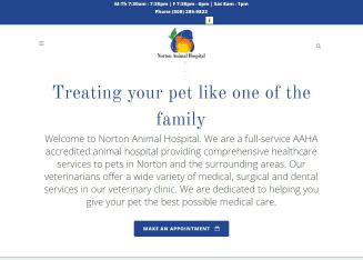 Norton+Animal+Hospital Website