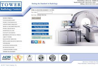 Tower+Diagnostics+Center Website