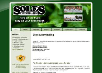 Soles+Exterminating Website