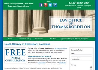 Law Office Of Thomas Bordelon