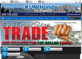 Kuni+Honda Website