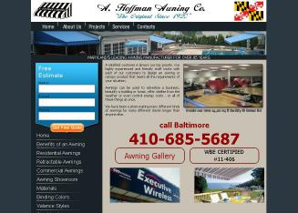 A+Hoffman+Awning Website