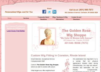 The+Golden+Rose+Wig+Shoppe Website