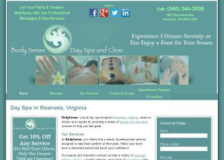 Body+Sense Website