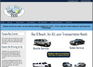 Bay+%26+Beach+Taxi Website