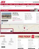 Ace+Hardware Website