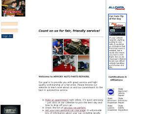 Armory+Auto+Parts+%26+Repair+Inc Website