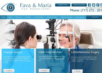 Fava+%26+Maria+Eye+Associates Website
