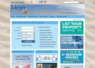 Gulf Shores Real Estate on Meyer Real Estate Orange Beach In Gulf Shores  Al   1585 Gulf Shores