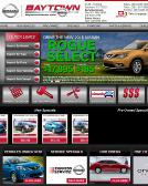 Baytown+Nissan Website